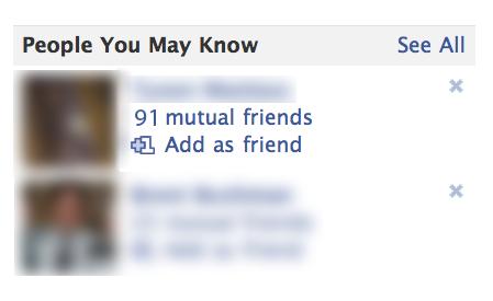 Lista de prieteni Facebook